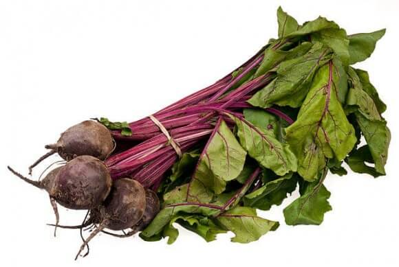 Beets In A Bundle Down Picture