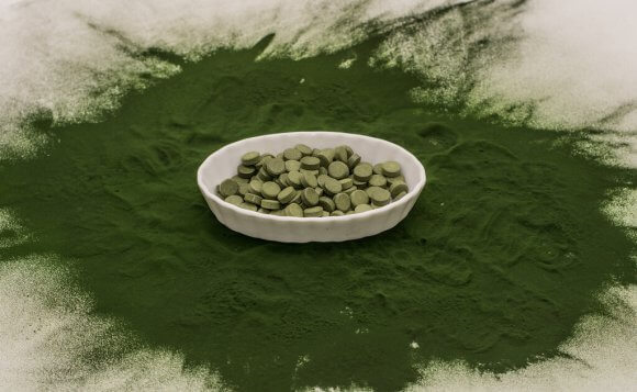 chlorella ingredients picture