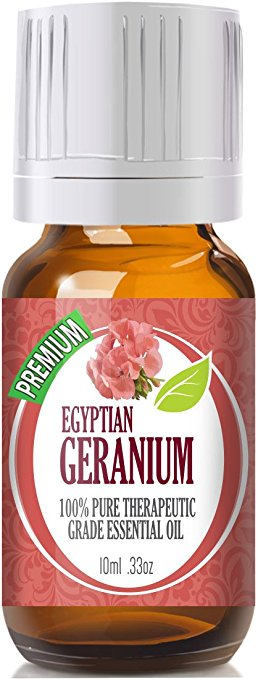 geranium essential oil bottle