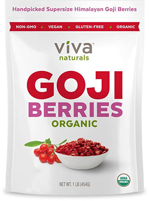 goji berries pack